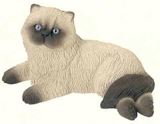 Himalayan Cat Figurines and Statues